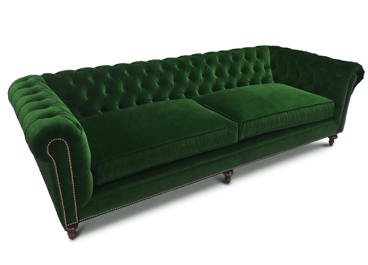 The Fitzgerald Classic Chesterfield Of Iron Oak